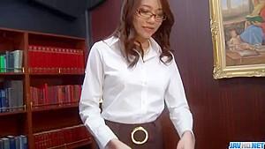 Perfect sex story along Asian secretary – JavHD.net