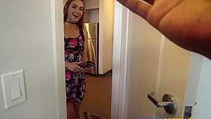 Private casting Kenzie Madison – Big cock for giggly cutie